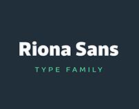 Riona Sans Typeface