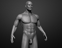 Character Modeling - Male
