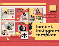 Loment Instagram Template