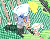 Takashi Nakamura 2017 / Line Drawings
