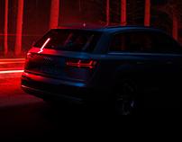 Audi Q7 e-tron Campaign Print