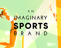 An Imaginary Sports Brand - Beach Volleyball Ad