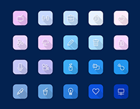 Freebie - Viro,Modern Icon Set