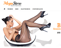 MegaStore - Responsive, Retina, Powerfull Settings