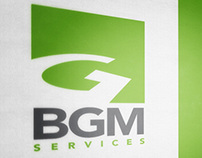 Logo for BGM services consulting
