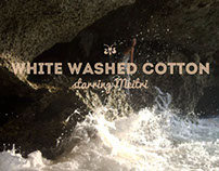 white washed cotton.