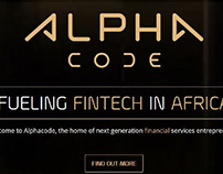 """Alpha Code"" Animated logo"
