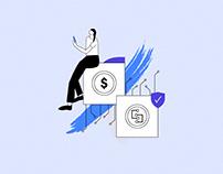 Web Illustrations / Settle Network