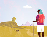 Illustration on Travel