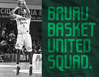United Squad Font - Bauru Basket Edition