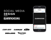 Evinmotors: Social Media Design