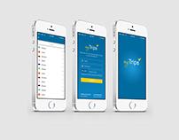 Design of mobile app
