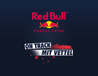 Red Bull - On Track mit Vettel