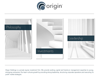 Web Design: OriginIncorporated.com (SpaceCraft)