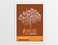 Poster for commemorate Palestinian Land Day ::30/3::