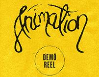Animation Reel 2013