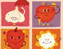 Frutitas de temporada