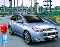 Mitsubishi Outlander dealer showroom cover