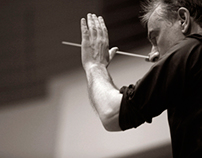 Stefanos Tsialis directing T.S.S.O performing Wagner