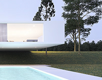 Minimalist country house