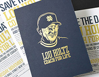 Lou Holtz: Coach for Life event collateral