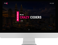 Crazy4 - Portfolio One Page Responsive HTML Template