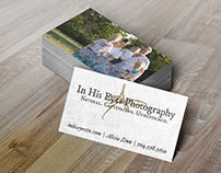In His Eyes Photography (Branding)