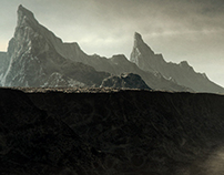 Matte painting:Death Legion