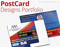 Post Card Design Portfolio | Swan Media Productions