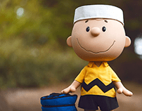 Life-Sized Charlie Brown for Super7