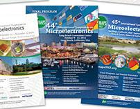 Industry Event Program Book Graphic Design