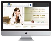 Nova campanha o Vestibular Unieuro 2013 Unieuro