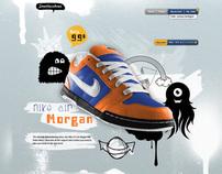 web design - Sneakershoes