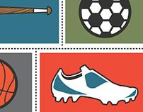 Kids Sports Camp Event Mailer