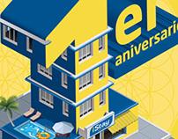 Invitación Primer Aniversario iStay Hotel