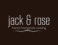 Logo :: Restaurant :: Jack and Rose