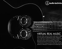 """Audio Technica"" Individual Advertisment"