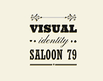 Saloon 79 I Visual Identity Redesing