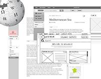 UX Case Studies: Wikipedia redesign