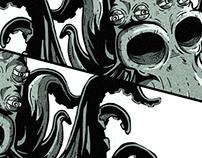 Octopus thousand eyes