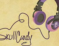 Sachplakat Skullcandy Postcard