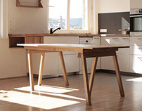 AUW + IKEA + adjustable table