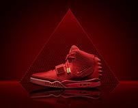 """Nike - Yeezy II """"Red Octobers"""""""