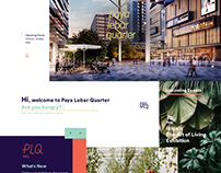 Paya Lebar Quarter Web Design
