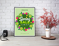 10 Creative Tropical Spring Posters