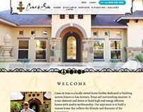 Casas de Sosa - homebuilder web design