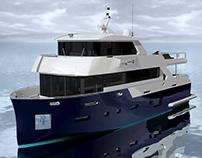 Yacht Pioneer S76