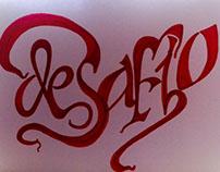 Minha contribuição para #palavracaligrafica #handmade
