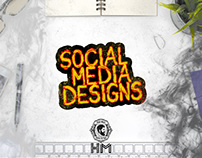 Social Media Designs (Hair Man)