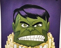 Hulk and the City